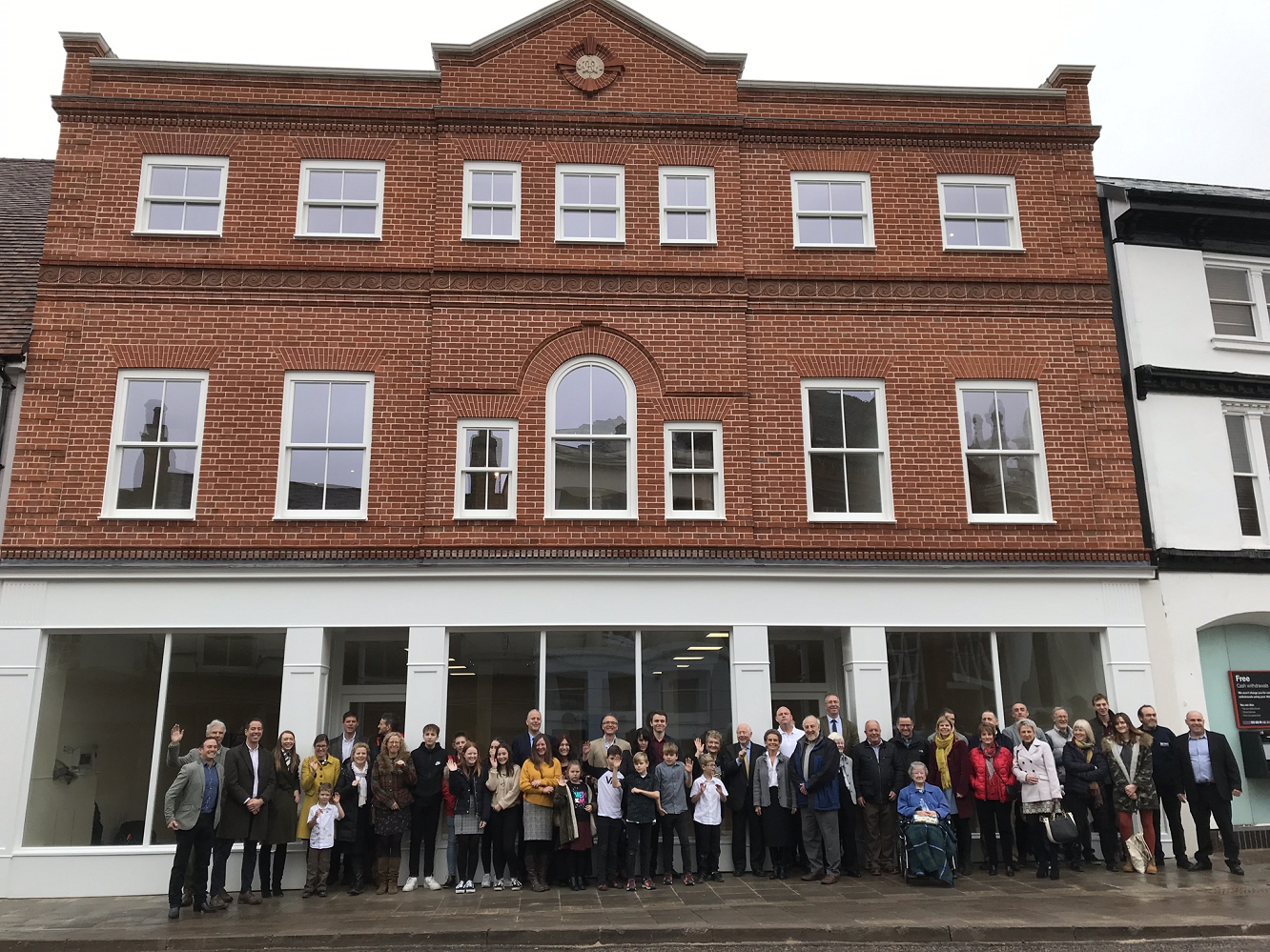 EVENT MARKS HANDOVER OF NEW BUILDING DESTROYED IN SUDBURY FIRE