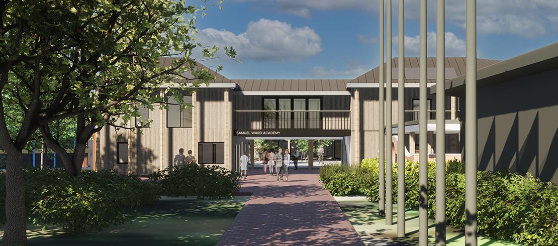 Samuel Ward Academy – New Sixth Form, Classrooms & Theatre Refurb
